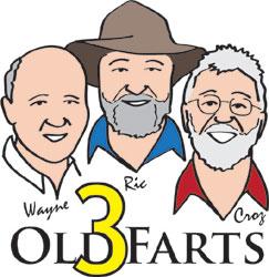 3 Old Farts - Ric, Wayne & Croz